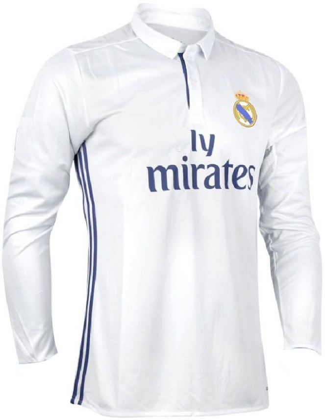 100% authentic acb01 cf6b5 real madrid full sleeve jersey india online