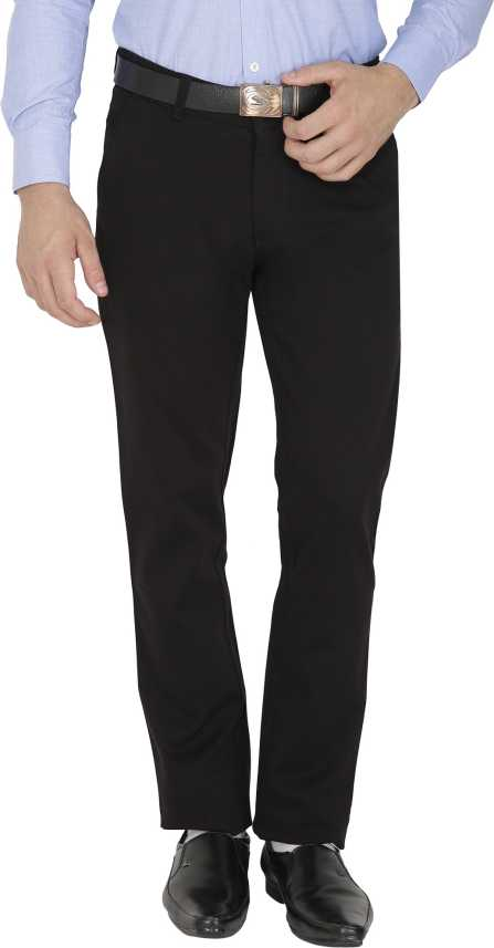 pretty cheap free shipping well known Sparky Slim Fit Men Black Trousers - Buy Black Sparky Slim Fit Men ...