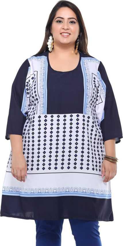30ad6d9be8 Pluss Printed Women Tunic