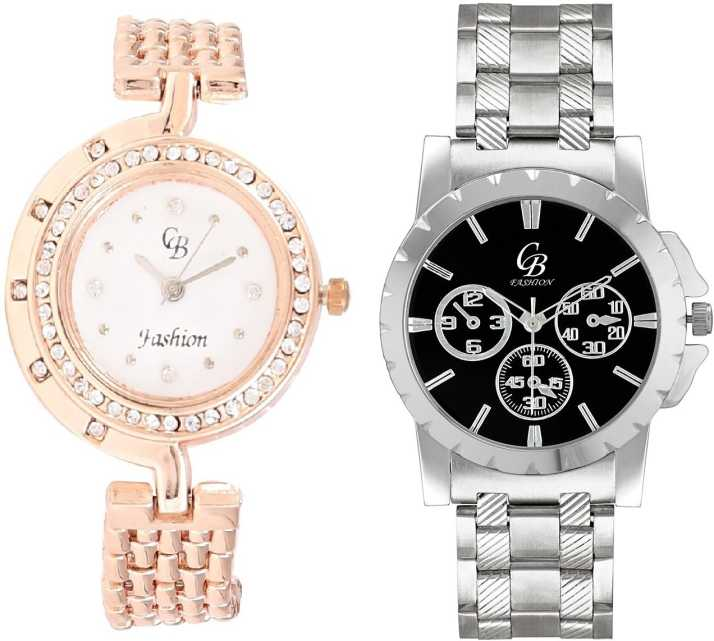519603dc113e CB Fashion 135-223 Watch - For Couple - Buy CB Fashion 135-223 Watch - For Couple  135-223 Online at Best Prices in India | Flipkart.com