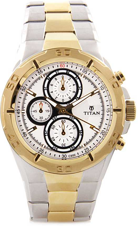 Titan NH9308BM01 Octane Analog Watch - For Men