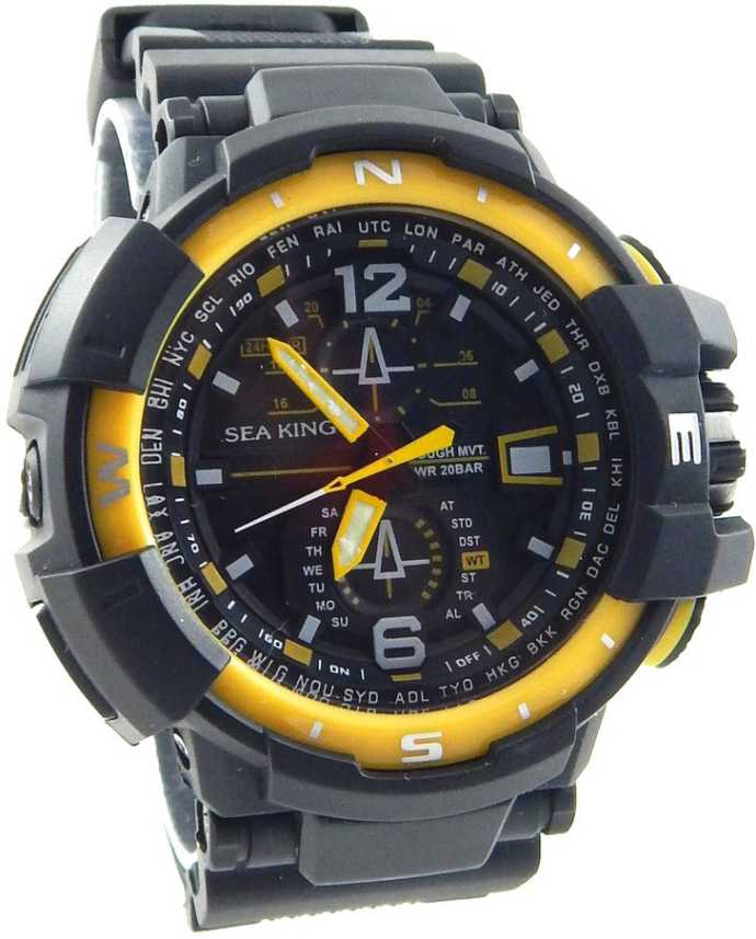 afff3c3b3db SEAKING SEAKING-21 2030 Japan Movement Watch - For Men - Buy SEAKING  SEAKING-21 2030 Japan Movement Watch - For Men SEAKING-21 Online at Best  Prices in ...