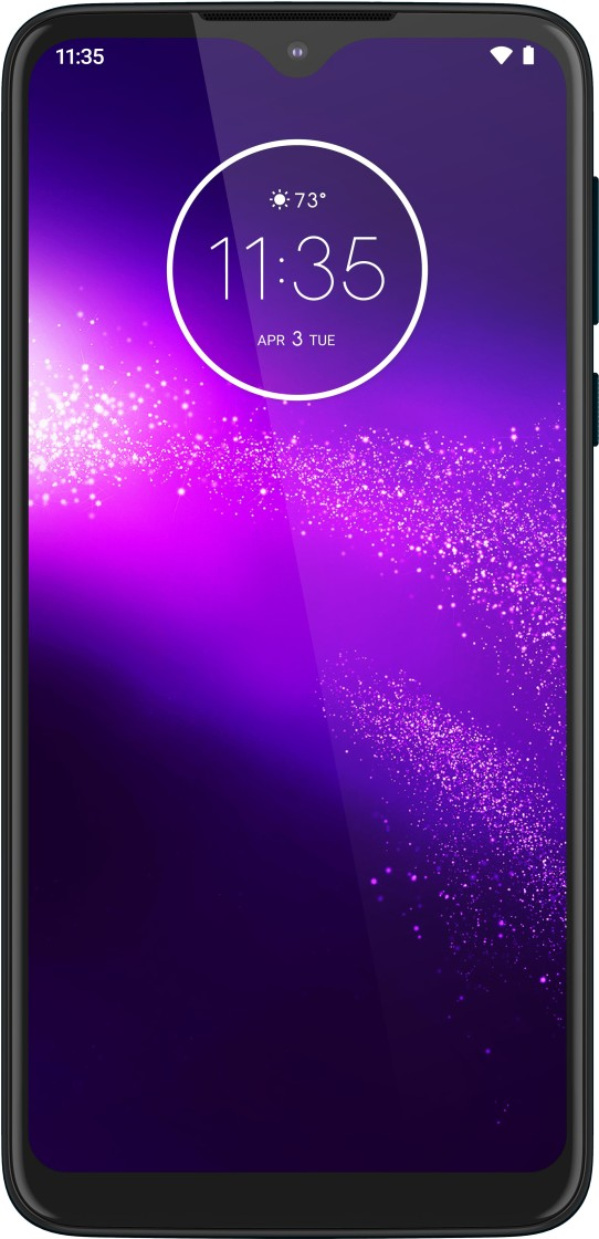 Motorola One Macro (Space Blue, 64 GB)(4 GB RAM) at Rs. 9999