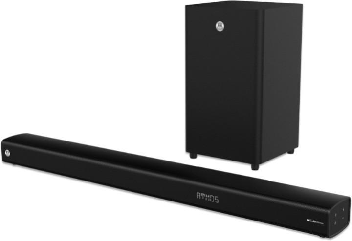 Motorola Amphisoundx 250w 3.1 Dolby Atmos Soundbar With Wireless Subwoofer