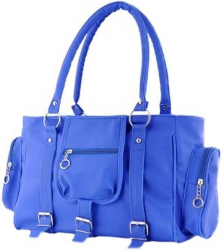 Women Blue Hand-held Bag Price in India