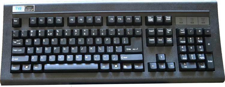 TVS Gold Wired USB Desktop Keyboard