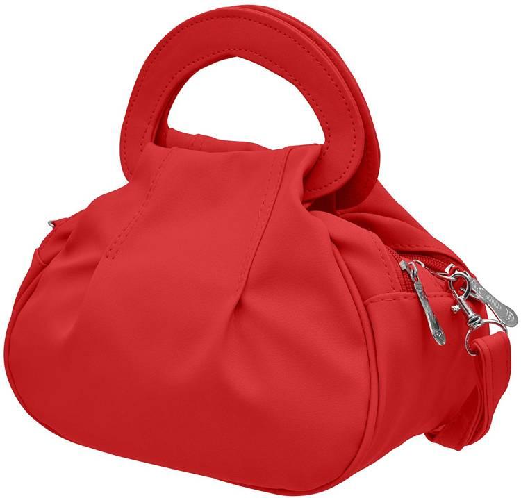 Red Women Sling Bag - Regular Size Price in India