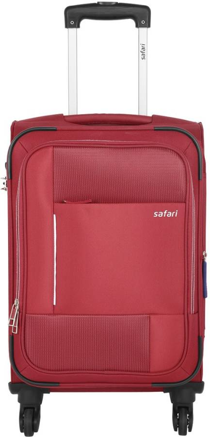 Small Cabin Luggage (55 cm) - PIXEL 4W 55 RED - Red