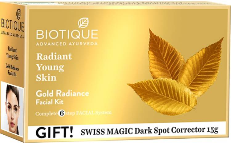 BIOTIQUE Gold Radiance Facial Kit Price in India