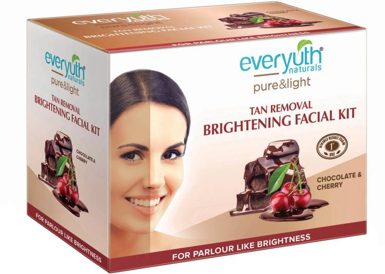 Everyuth Naturals Tan Removal Brightening Facial Kit Price in India