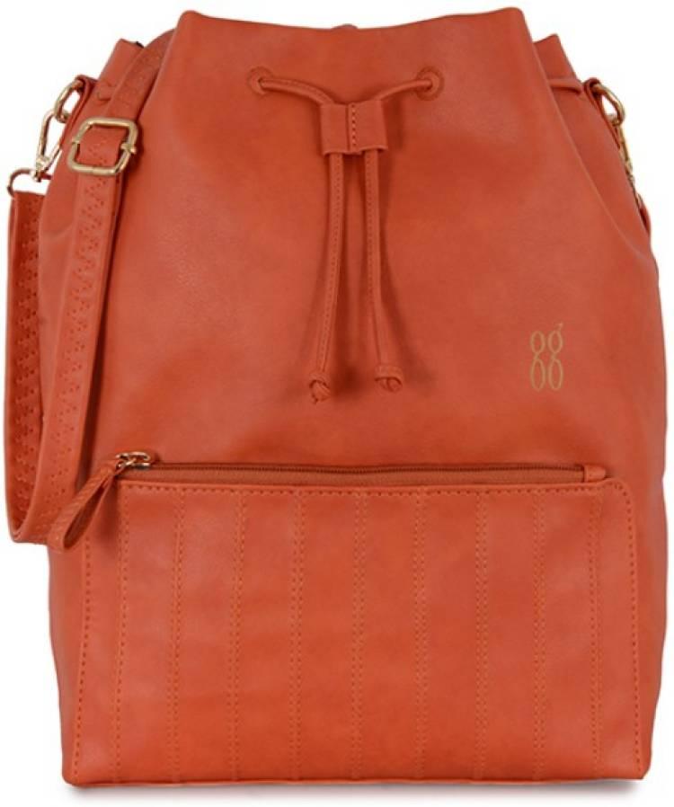 Orange Women Sling Bag Price in India