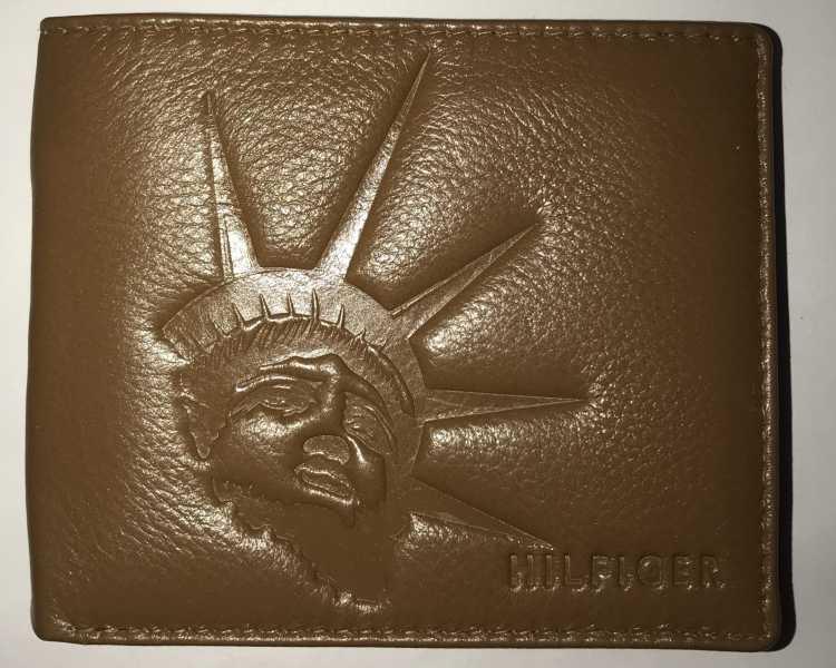 Tommy Hilfiger Boys Tan Genuine Leather Wallet (6 Card Slots)