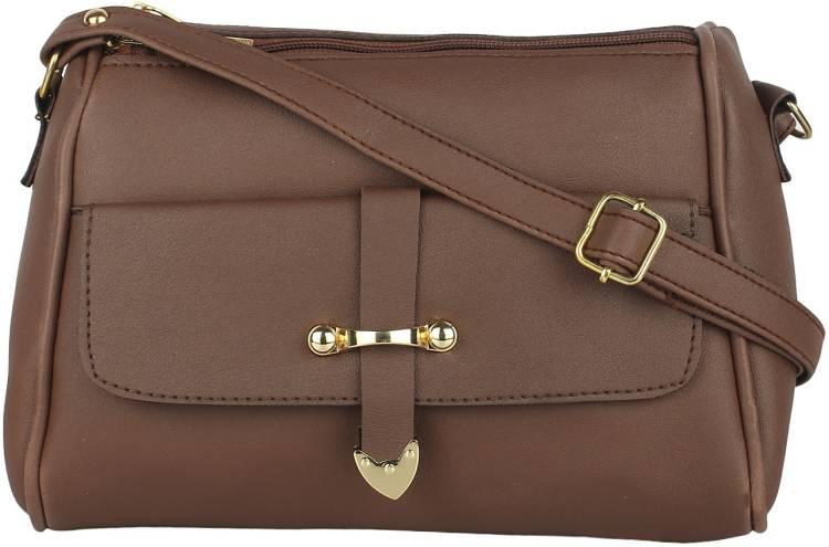 Tan Women Sling Bag Price in India
