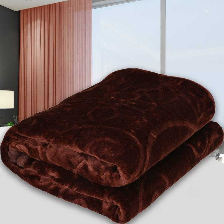 SPANGLE Solid Single AC Blanket