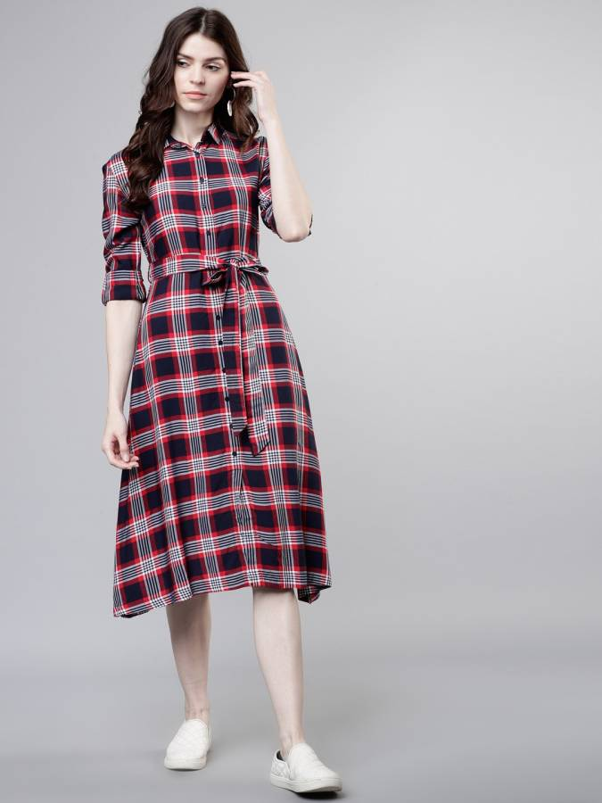Women Shirt Multicolor Dress Price in India