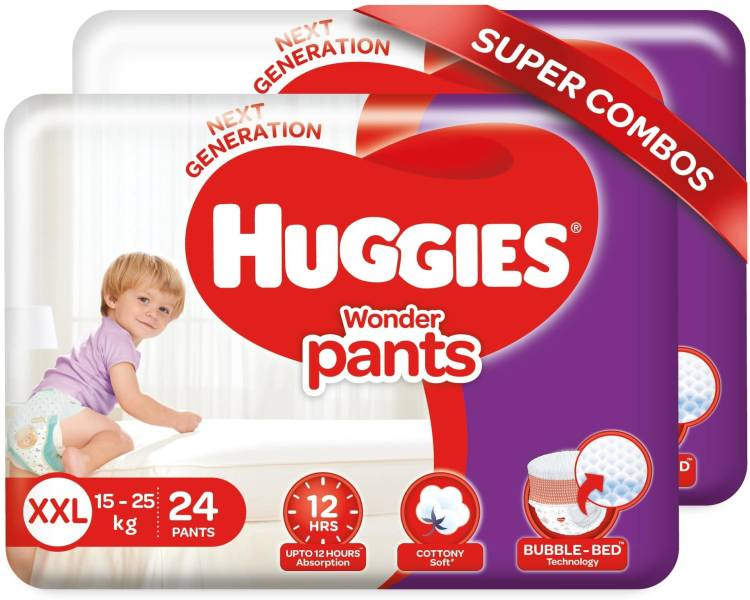 Huggies Wonder Pants diapers -combo pack - XXL
