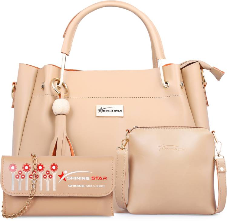 Women Silver Hand-held Bag