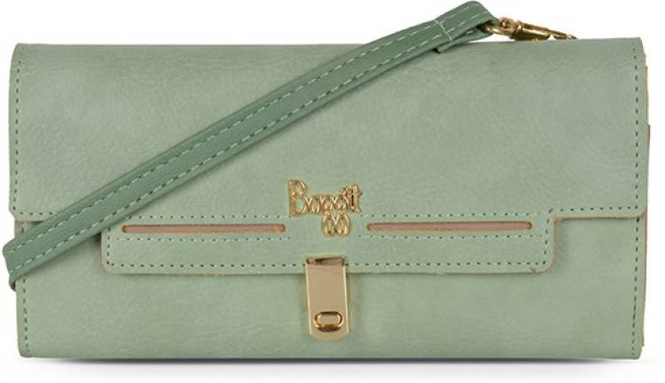 Green Women Sling Bag Price in India