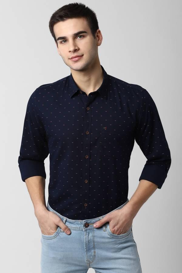Men Printed Formal Shirt