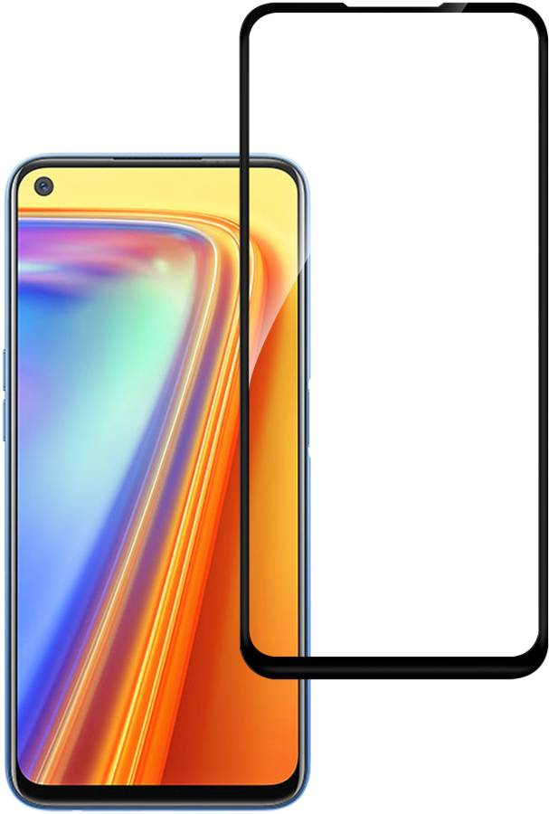 Hupshy Edge To Edge Tempered Glass for Realme Narzo 20 Pro, Realme 7i, Realme 6i, Realme 7, Realme 6