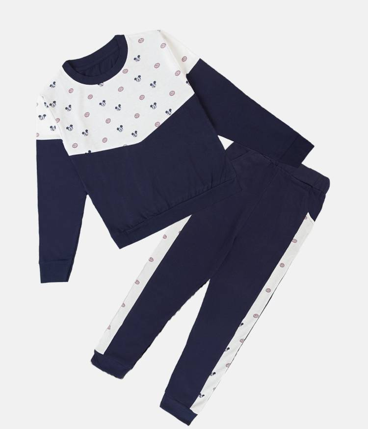 Boys & Girls Mickey Party(Festive) T-shirt Pant