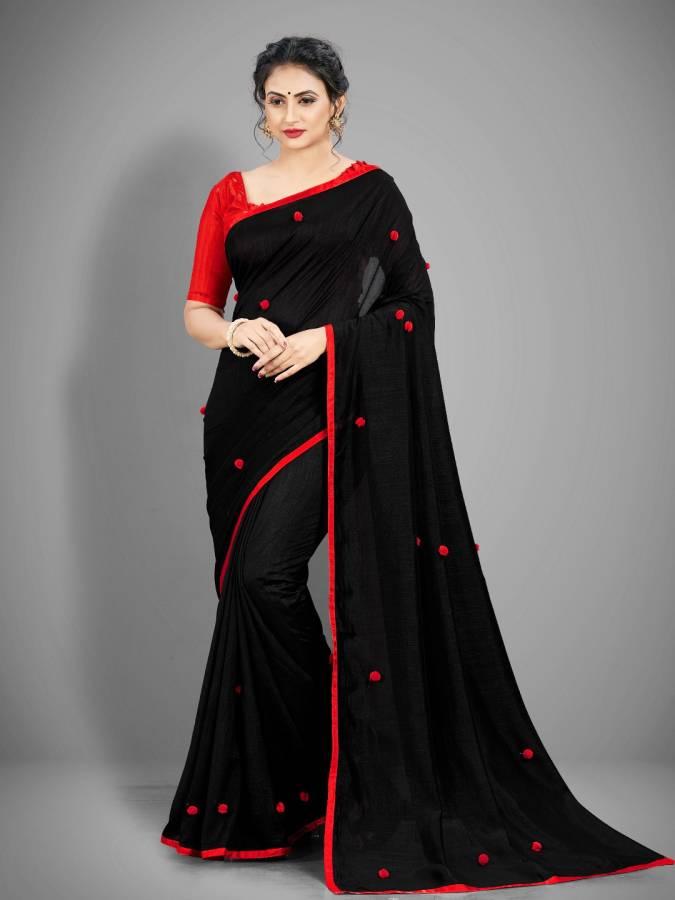 Embroidered Fashion Vichitra Saree