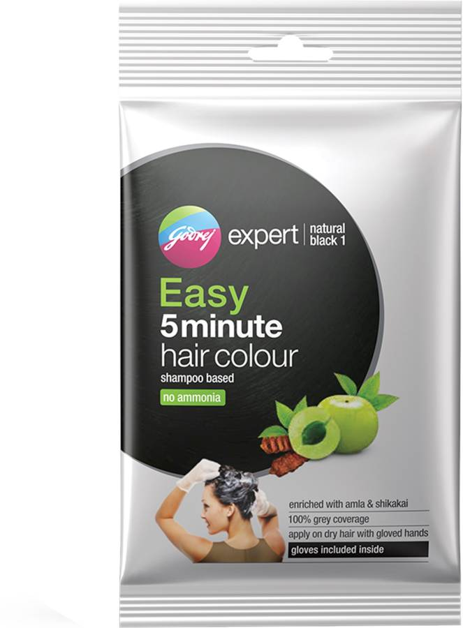 Godrej Expert Easy 5 Minute Hair Colour , Natural Black