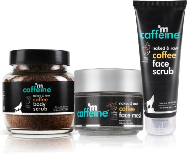 MCaffeine Coffee De-Tan Kit Price in India