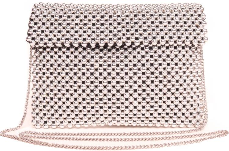 Silver Women Sling Bag Price in India