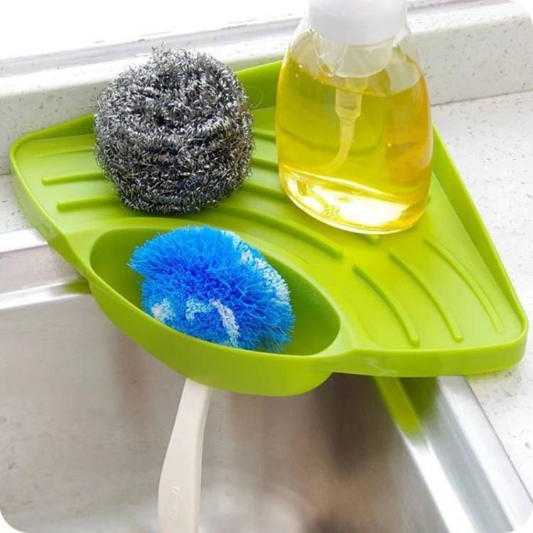 MACARIZE Ergonomic Modern Space Master Kitchen Corner Sink Dish Drainer Kitchen Rack