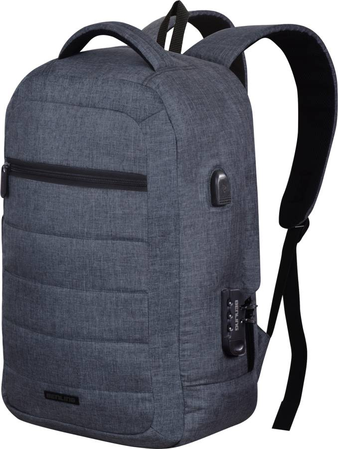 """Large 40 L Laptop Backpack """"The High Capacity & USB Charging Port Series"""" Laptop/Office/College/Travel and Casual Backpack With USB Charging Port for Men and Women"""