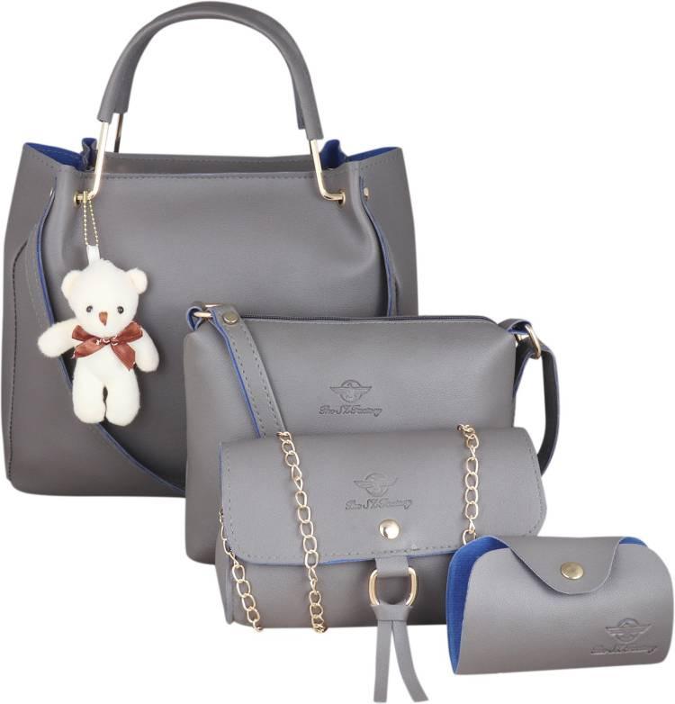 Grey Women Shoulder Bag Price in India