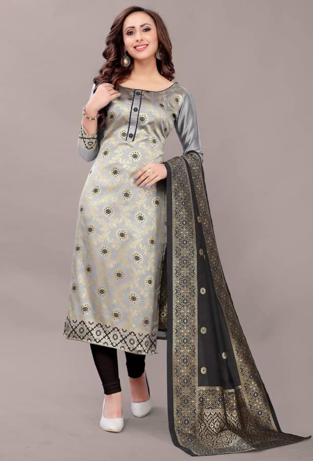 Jacquard Woven Kurta & Churidar Material Price in India