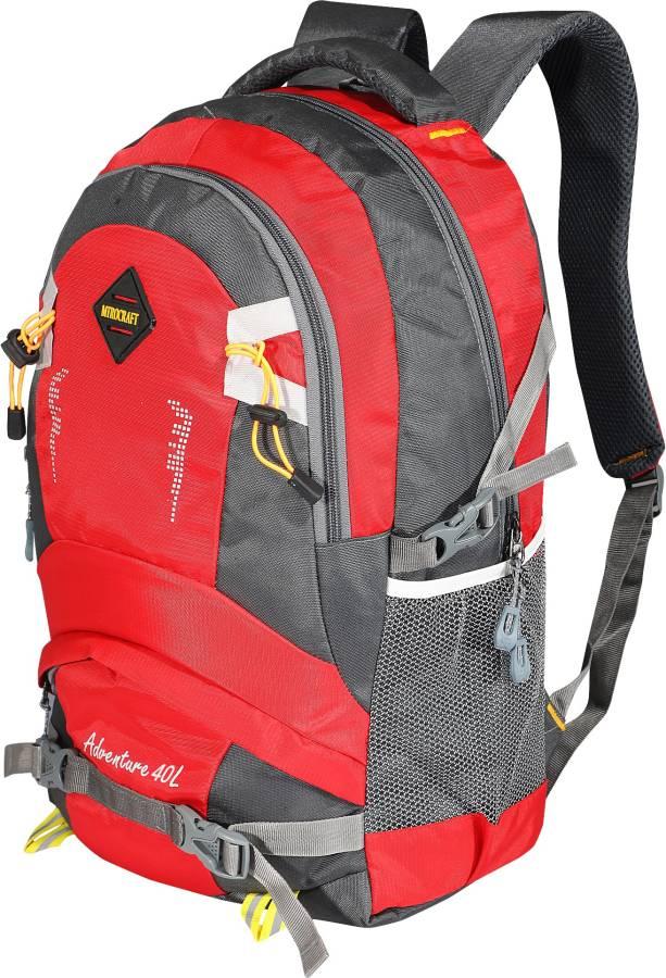 Large 40 L Laptop Backpack Walker Backapck Red