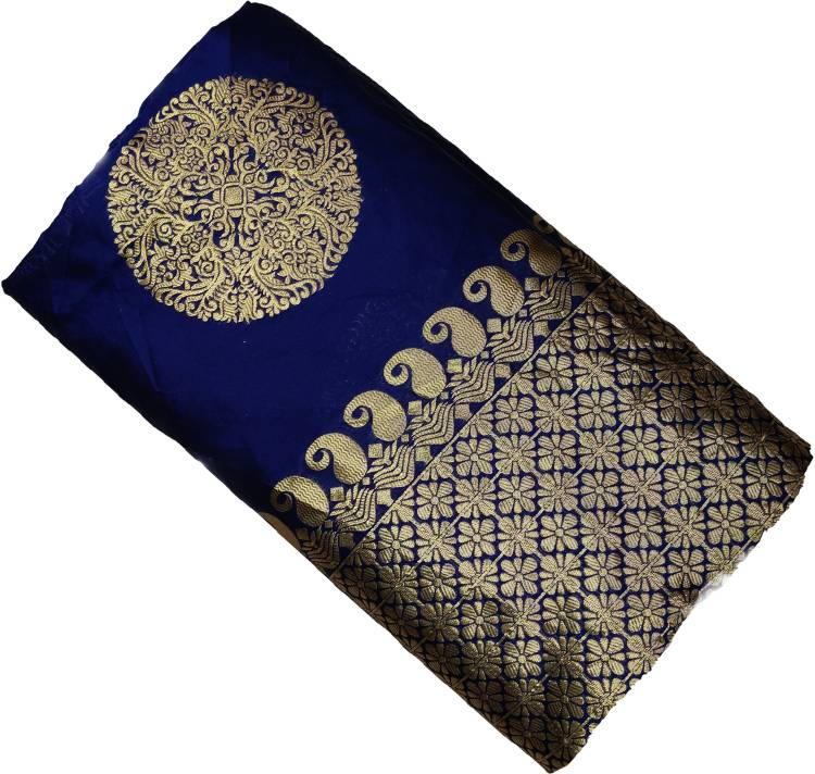 Synthetic Solid Salwar Suit Material