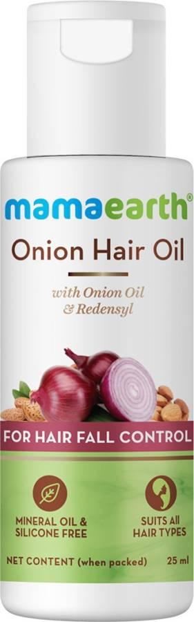 MamaEarth Onion Hair Oil with Onion & Redensyl for Hair Fall Control Hair Oil