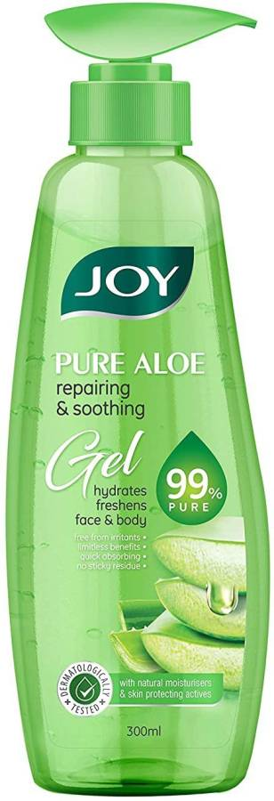 Joy Pure Aloe Repairing & Soothing Aloe Vera Gel for Face & Body Price in India