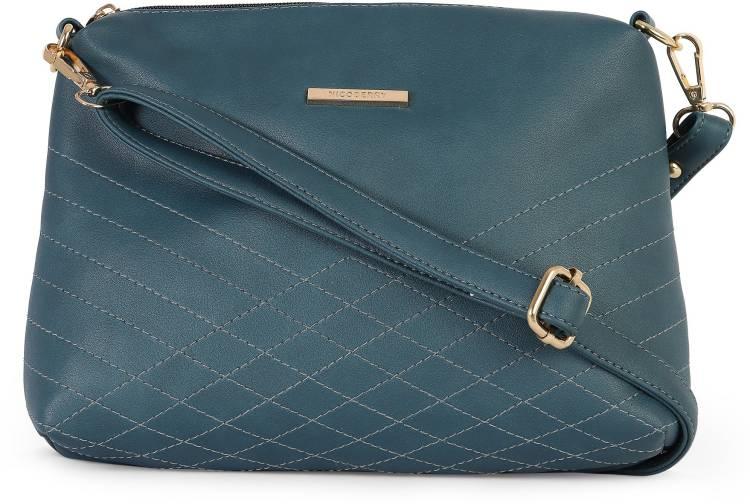 Green Women Sling Bag - Regular Size Price in India
