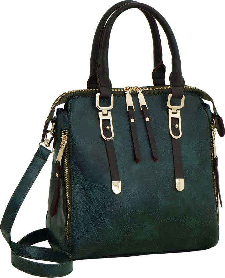 Green Women Shoulder Bag Price in India