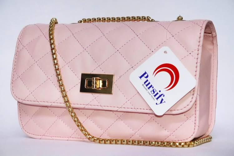 Pink Women Sling Bag Price in India
