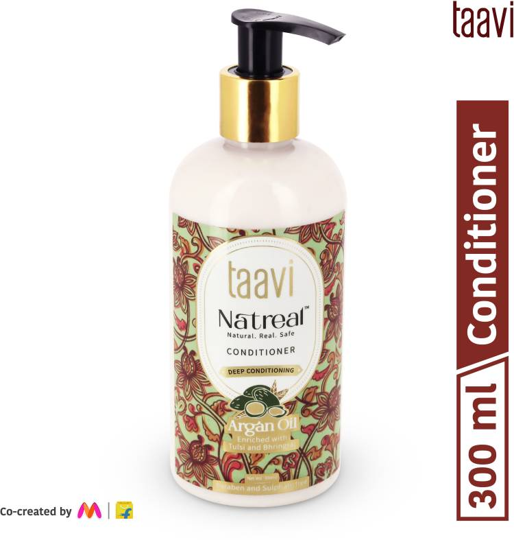 Taavi Natreal Argan Oil Conditioner for Deep conditioning - NO Harmful chemicals, only real ingredients Price in India