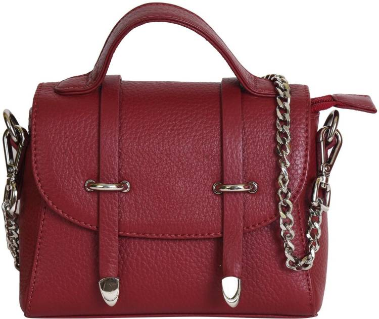 Red Women Sling Bag Price in India