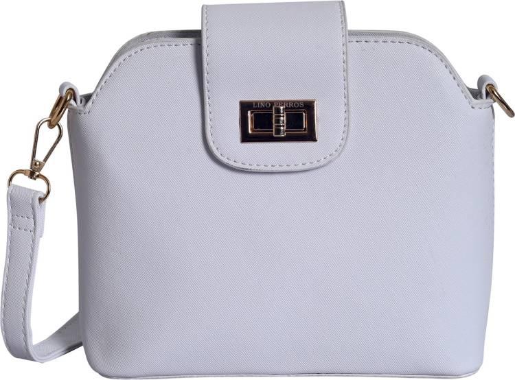 White Women Sling Bag Price in India