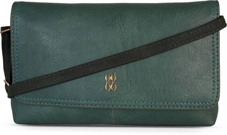 Green Women Sling Bag Price in India