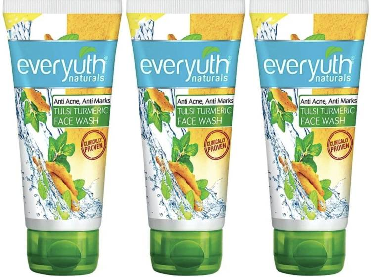 Everyuth Naturals Tulsi Turmeric Face Wash Price in India
