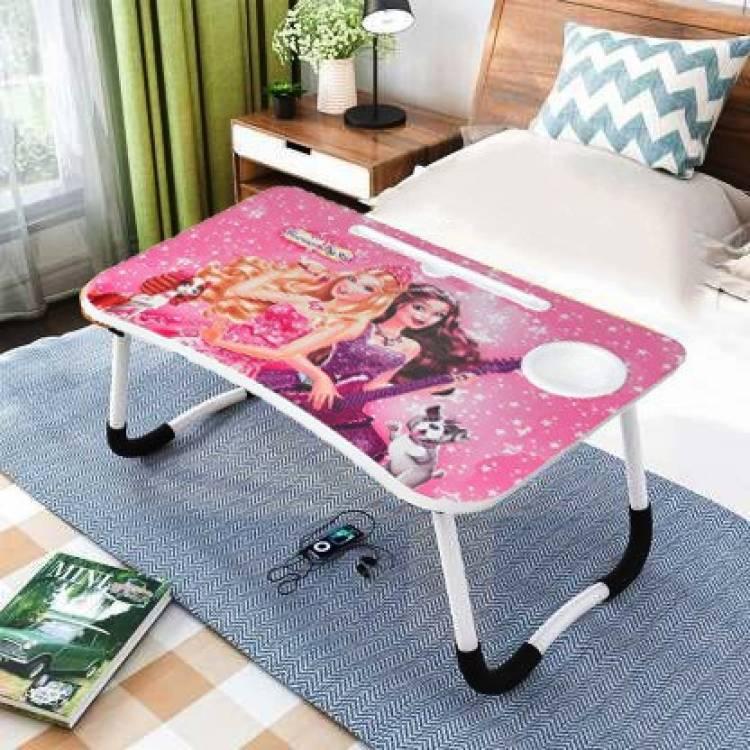 A V CREATION Wood Portable Laptop Table