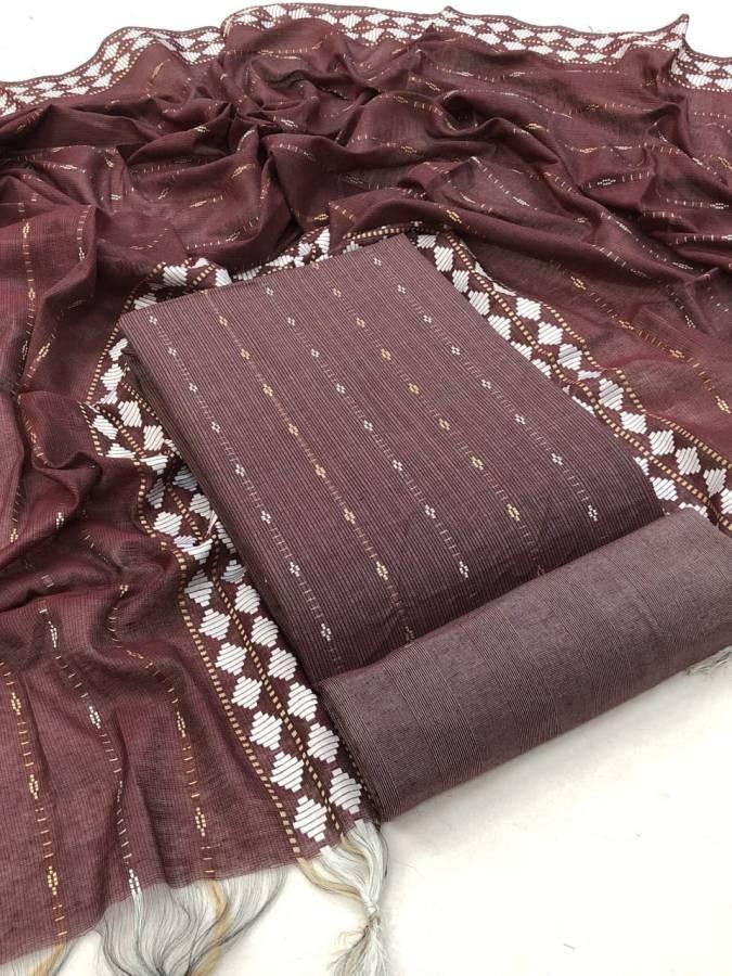 Cotton Woven Salwar Suit Material