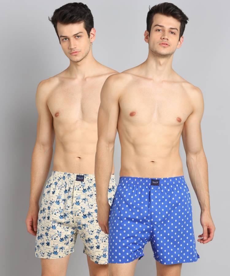 Floral Print Men Multicolor Boxer Shorts