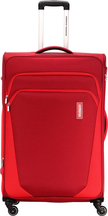 Small Cabin Luggage (57 cm) - KANSAS SPINNER 57 CM RED - Red