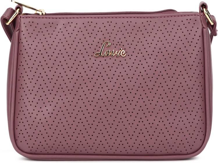 Purple Women Sling Bag - Mini Price in India